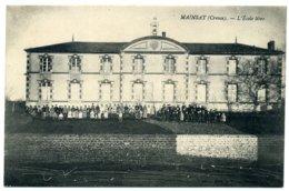 MAINSAT. L'École Libre. - Autres Communes