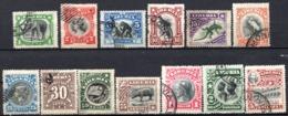 LIBERIA (République) - 1906 - N° 84 à 96 - (Série De 13 Valeurs Différentes) - Liberia