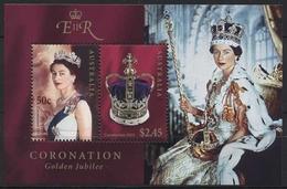 Australien 2003 50 J. Krönung Königin Elisabeth II. Block 48 Postfrisch (C24145) - Blocks & Kleinbögen
