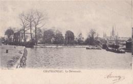 Châtelineau Le Déversoir Circulée En 1904 - Châtelet