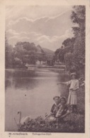 M.- Gladbach Volksgarten-Idyll Circulée En 1922 - Moenchengladbach