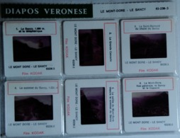 LE MONT-DORE - LE SANCY  : 6 DIAPOSITIVES VERONÈSE SUR FILM KODAK - Diapositives (slides)