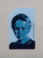 Poland Pologne Phonecard Carte De Téléphone Polish Nobel Prize Winners Prix Nobel De Pologne Sklodowska-Curie - Poland