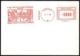 ITALIA TORINO 1999 - SPECIMEN AICAM (NO POSTALE) - 11 LUGLIO 1899 - FIRMA DELL'ATTO DI COSTITUZIONE DELLA FIAT - Automobili