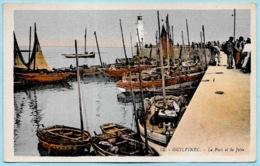 CPA 29 GUILVINEC Finistère - Le Port Et La Jetée (Bateaux De Pêche) ° G. Artaud - Guilvinec