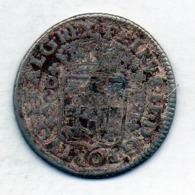PORTUGAL, 200 Reis, Silver, Year 1688, King Petrus II, KM #148 - Portugal