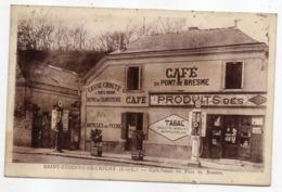 SAINT ETIENNE DE CHIGNY-- Café-Tabac Du Pont De Bresme (commerce En Bon Plan,pompes,pubs Byrrh,Picon )) - Other Municipalities