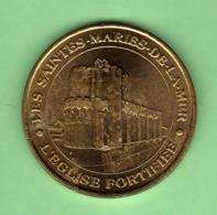 MONNAIE DE PARIS 2007 *** LES SAINTES MARIES DE LA MER - L'EGLISE FORTIFIEE *** N°44 - Monnaie De Paris