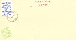 Radio Amateur, Ile De Pabay (Skye) 1992 - FDC - Viñetas De Fantasía