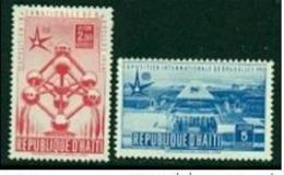 """-Haiti-1958- """"Airmail""""  MH (*) - Haiti"""