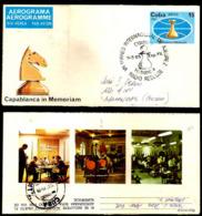 2583  Chess - Echecs - Aerogramme - 1982 - Used - Cb - 3,25  A28 - Echecs