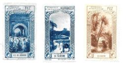 KB948 - VIGNETTES SYNDICAT D'INITIATIVE - FEZ MARRAKECH - Marokko (1891-1956)