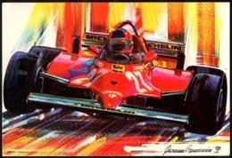 ITALIA IMOLA 2006 - 26° GRAN PREMIO DI SAN MARINO - CAMPIONATO DEL MONDO DI F.1 - CARTOLINA GIOVANNI CREMONINI - Automobilismo