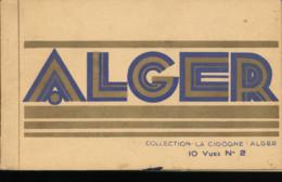 Algerie -- Carnet Alger -- 8 Vues N° 2 - Algerije