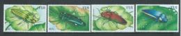 Fiji 2000 Beetles Set Of 4 MNH - Fiji (1970-...)