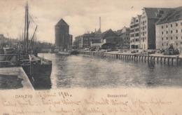 DANZIG , Germany (Now Poland) , 1901 , Seepackhof - Polonia