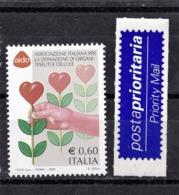 Italy, 2005- AIDO. MintNH. - 6. 1946-.. Repubblica