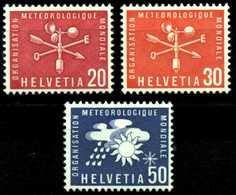 SCHWEIZ-OMM Nr 7-9 Postfrisch S5D212A - Dienstzegels