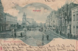 Danzig, Germany (Now Poland), 1901 ; Marktplatz - Polonia