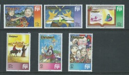 Fiji 1999 Christmas Set 6 MNH - Fiji (1970-...)