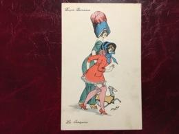 "Poupée Parisienne-""Les Intrigantes""--Xavier Sager--cpa (my Ref XS12) - Sager, Xavier"