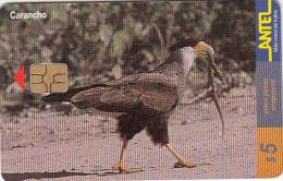 URUGUAY - Bird, Carancho(110a), 03/00, Used - Uruguay