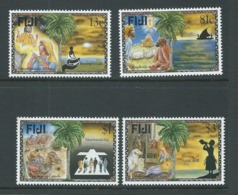 Fiji 1996 Christmas Set 4 MNH - Fiji (1970-...)