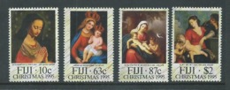 Fiji 1995 Christmas Set 4 MNH - Fiji (1970-...)