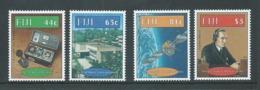 Fiji 1996 Marconi & Radio Anniversary Set 4 MNH - Fiji (1970-...)