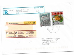 Send To Germany 2000 Stamp Church And Sydney Football - Jugoslavia