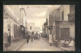 CPA La Marsa, Une Rue - Tunisia