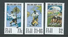 Fiji 1993 Rugby Sevens Set 3 MNH - Fiji (1970-...)