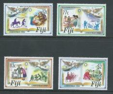 Fiji 1992 Christmas Set 4 MNH - Fidji (1970-...)