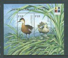Fiji 1999 Indigenous Ducks IBRA Miniature Sheet MNH - Fiji (1970-...)
