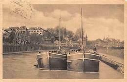 Germany Saarbruecken An Der Saar Boats 1922 - Germany
