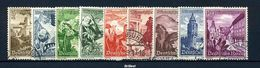 DEUTSCHES REICH 1938 Nr 675-683 Sauber Gestempelt (97639) - Deutschland