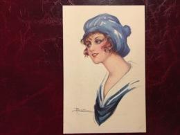 "Jeune Fille Bonnet ""look Sportif""-Adolfo Busi-(my Ref AB4) - Busi, Adolfo"