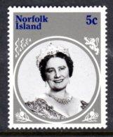 NORFOLK ISLAND - 1985 LIFE & TIMES OF QUEEN ELIZABETH THE QUEEN MOTHER 5c STAMP FINE MNH ** SG 364 - Norfolk Island