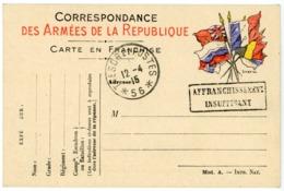CPFM 1915 TRESOR ET POSTE *56* - Marcophilie (Lettres)