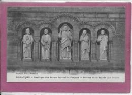 25.- BESANÇON  .- Basilique De SAINT Férréole Et Ferjeux  Statues De La Façade - Besancon