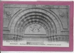 25.- BESANÇON  .- Basilique De SAINT Férréole Et Ferjeux  SCULPTURE DU PORTAIL - Besancon