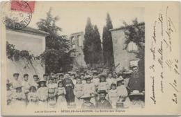 CPA  Segalas De Lauzun La Sortie Des Vepres - Autres Communes