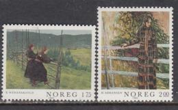 Norway 1982 - Painting, Mi-Nr. 867/68, MNH** - Norwegen