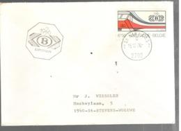 25041 - 11 Enveloppes TRAIN EXPO - Belgium
