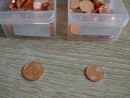 RARE En L état : Lot 1 Centime EURO Espagne 2014+ 2 Centimes EURO Espagne 2014 Issu De Rouleaux En L état Sur Les Photos - Espagne