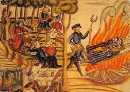 Gleichzeitige Verbrennung Dreier Hexen Auf Dem Scheiterhaufen Riegersburg - Ansichtskarten