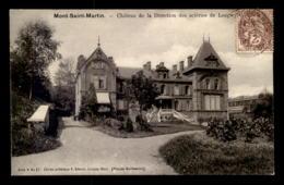 54 - MONT-SAINT-MARTIN - CHATEAU DE LA DIRECTION DES ACIERIES DE LONGWY - EDITION V. KREMER - Mont Saint Martin