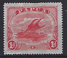 Papau New Guinea 1911  1d Lakatoi (*) MM - Papua New Guinea
