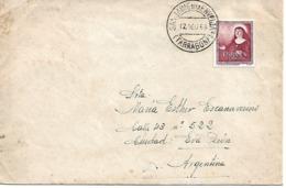 Carta De San Jaime De La Enverja A Argentina. Rara Procedencia Y Destino - España