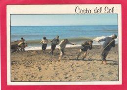 Modern Post Card Of Barrio De Pescadores,Almeria, Andalucia,Spain,A34. - Almería